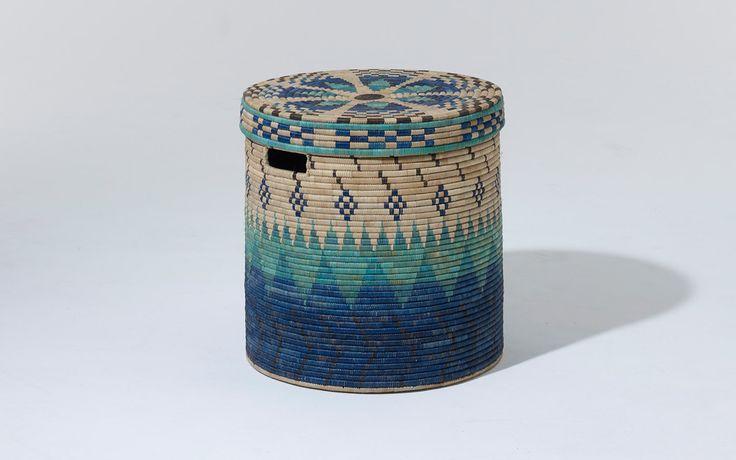 Peaks linen basket
