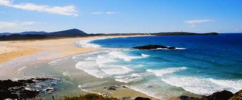 ruta del surf en Valdoviño, Galicia