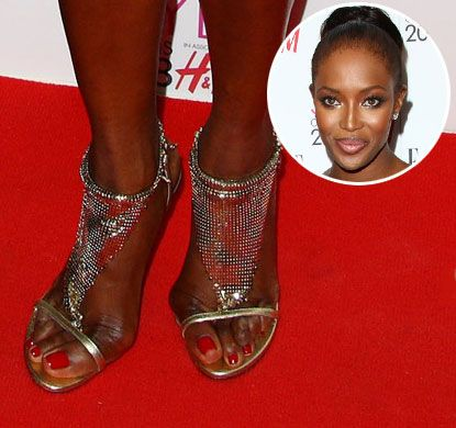 10 Worst Celebrity Feet - YouTube