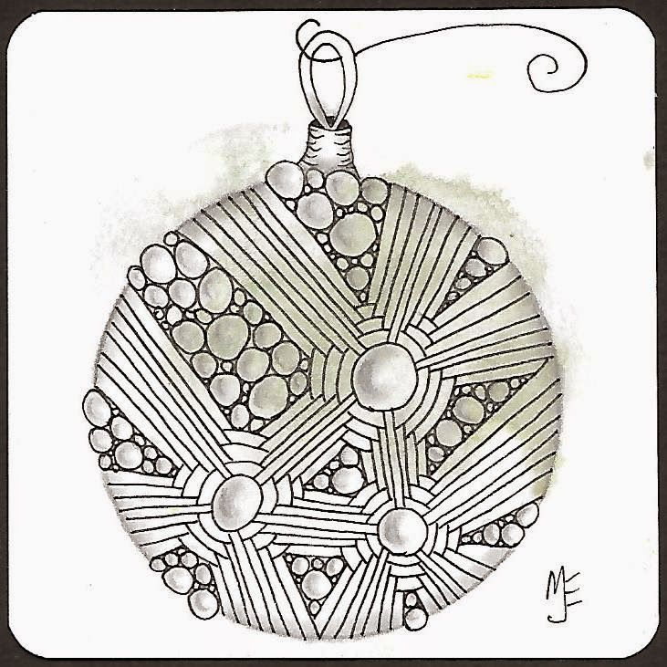 thehappytangler: Four More Christmas Cards | Zentangle patterns ...
