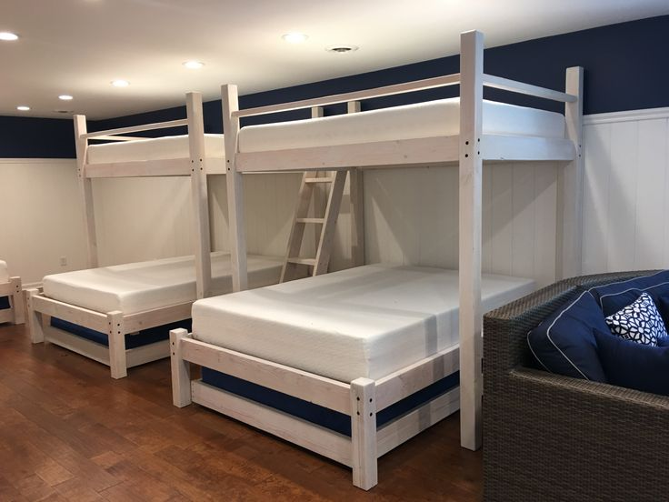 Shop Our Juliana Custom Made Bunk Bed With Ladder For Kids Or Adults And Save Design Your Dream Bedroom Today