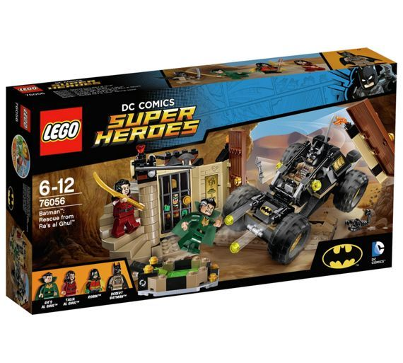 Buy LEGO Super Heroes Batman: Rescue from Ra's al Ghul - 76056 at Argos.co.uk - Your Online Shop for LEGO, LEGO and construction toys, Toys.