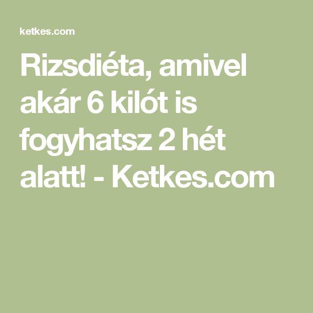 Rizsdiéta, amivel akár 6 kilót is fogyhatsz 2 hét alatt! - Ketkes.com
