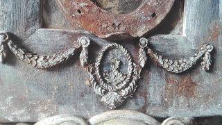 siedlisko-blokowisko: Dziś odsłona starej ramki z lusterkiem prawie każd...