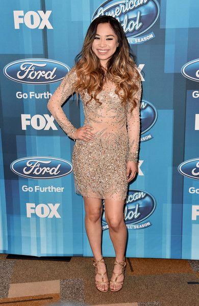 Jessica Sanchez attends FOX's American Idol Finale