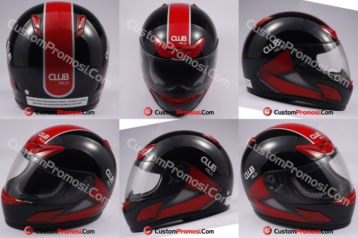 "Helm Promosi Pesanan "" CLUB MILD"" Info Harga Hubungi +6281287068190"