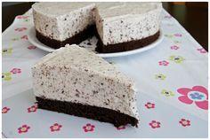 Sati nedávno zveřejnila recept na lehký dort z jogurtu, šlehačky a čokolády. Netrvalo dlouho a musela jsem ho taky zkusit. Jen velmi lehc...