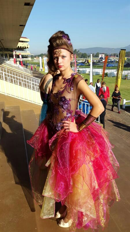 Multi Colour dress (Whatevs designs) Brenda Waring
