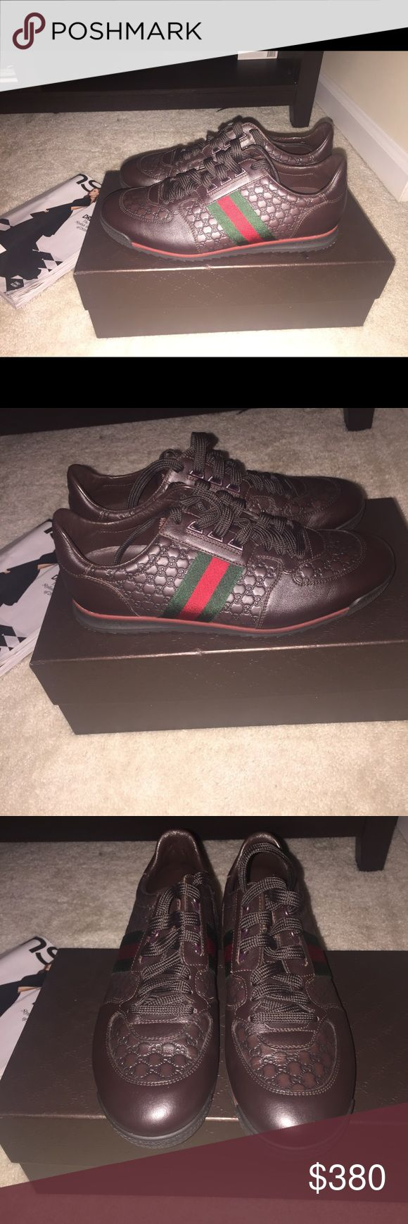 Mens Gucci Sneakers Pre-loved mens gucci sneaker great condition wore only once!! Gucci Shoes Sneakers