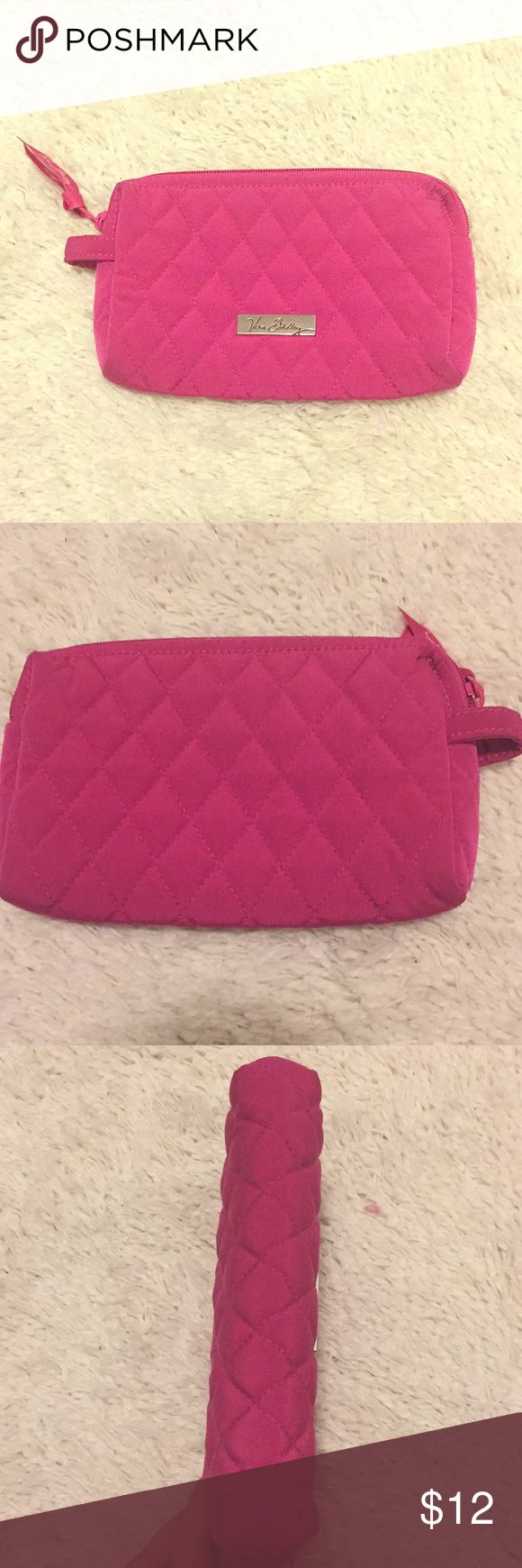 Vera Bradley Small Cosmetic Bag Quilted small Cosmetic Bag, perfect for a purse! Never really used in excellent condition, no stains or spots. Vera Bradley Bags Cosmetic Bags & Cases