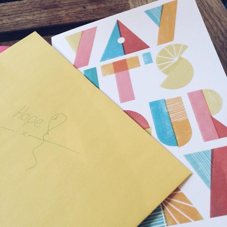 Loved this gorgeous birthday card from the #happynannies team. Was so lovely to celebrate with the @happynestuk girls.   #nannylife #nannyshecando #kids #pursuepretty #loveyellow #celebratethesmallthings #birthdaycard #nannyagency