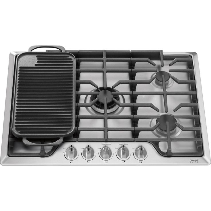 KitchenAid 30 Inch Gas Cooktop – Stainless Steel
