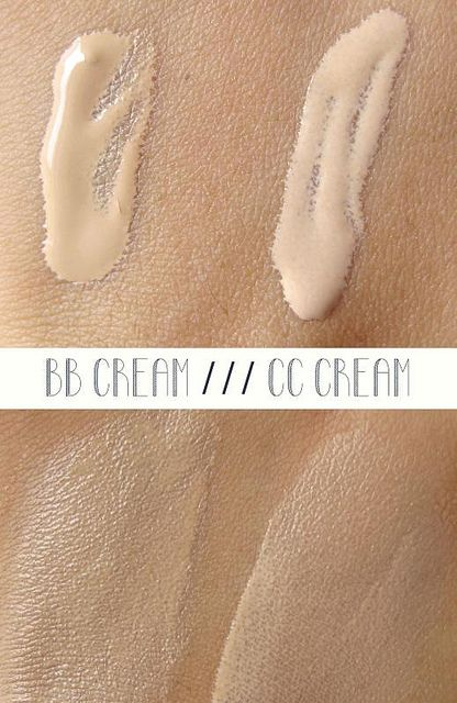 Make your own bb or cc cream. I don't know how necessary this really is in my daily routine, but good to know