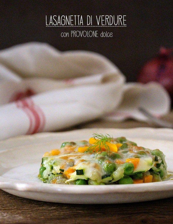Lasagne con verdura #Italy #ricetta #ricette #Lasagne con #verdura e formaggio #cheese #vegetarian #recipe