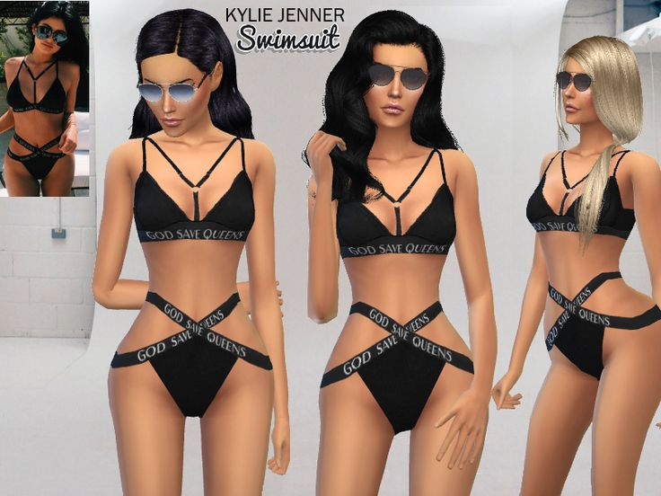 Fan of Kylie Jenner? ^^  Found in TSR Category 'Sims 4 Female Swimwear'