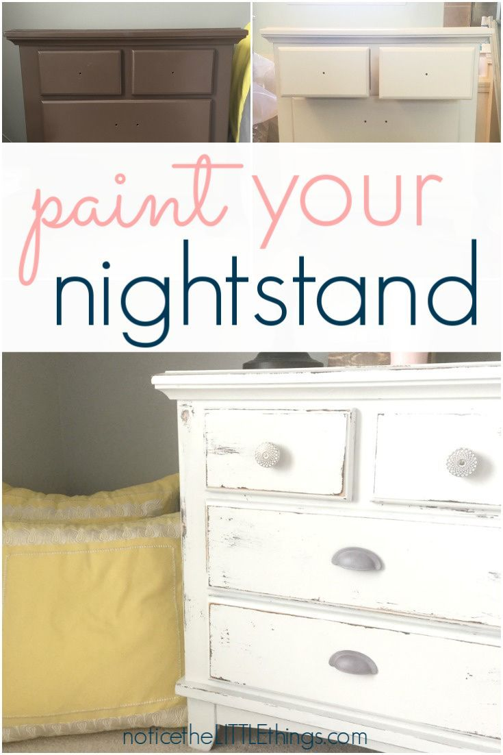 How To Paint Your Bedroom Furniture Diy Furniture Renovation Furniture Makeover Furniture Makeover Diy