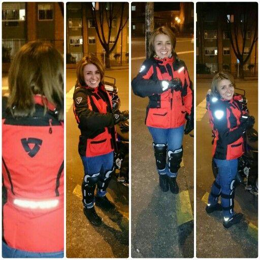 Mi equipo para viajar #caqueta #Guantes #revit #Protectordeespalda #Rodilleras #BotasTcx