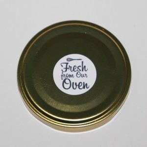 label produk sticker produk fresh from the oven makanan rasa VTSPC308