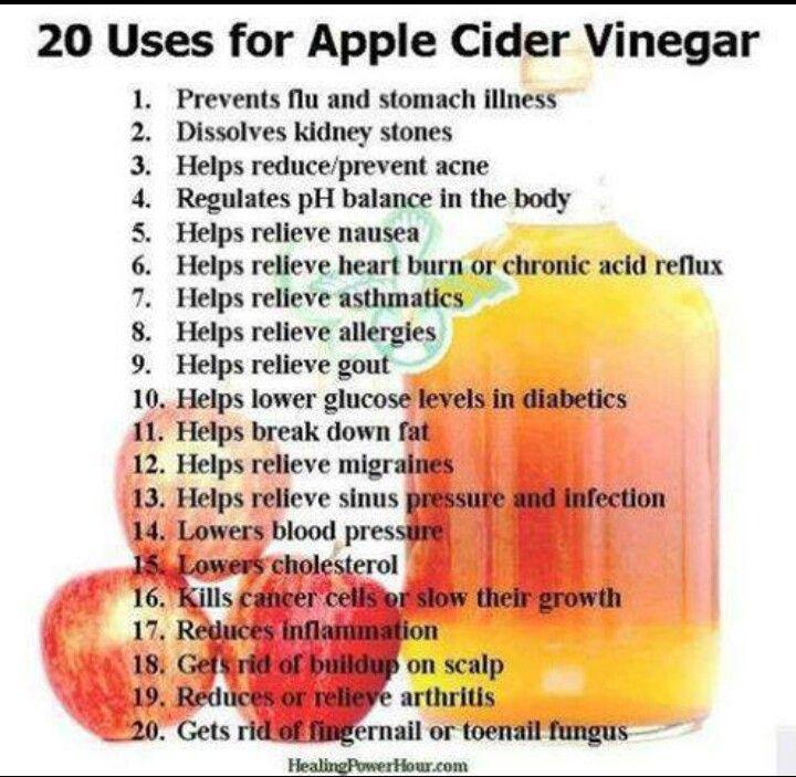Benefits of Cider Vinegar