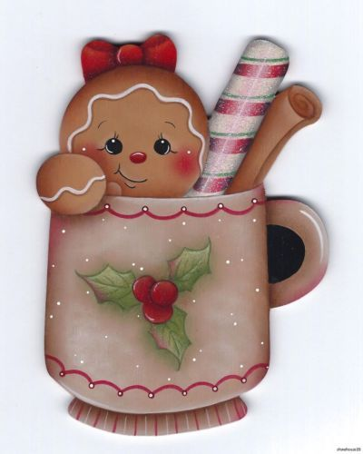 Christmas Gingerbread by Pamela House