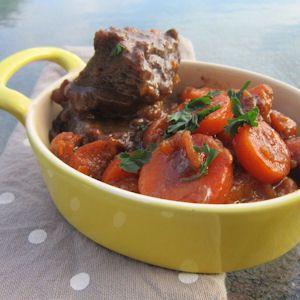Légèreté  Gourmandises: Joue de boeuf aux carottes (7 PP)
