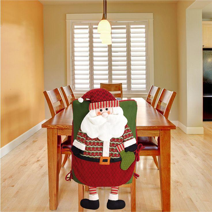 Costco Mexico - CTM, cobertores navideños para sillas de Santa Claus y Reno