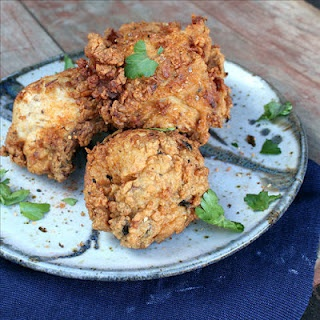 fried chicken with shichimi togarashi: Fries Chicken, Exotic Land, Inspiration Recipes, Easy Cooking, Cooking Memoirs, Japan Recipes, Savory Feast, Fried Chicken, Shichimi Togarashi