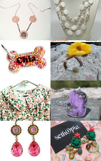 Lovely gifts and accessories - July 21 by Cris D. on Etsy--Pinned with…