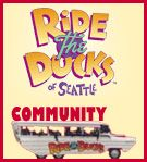 Ride the Ducks of Seattle - Fun and unique tours of Seattle! Call 206-441-DUCK!