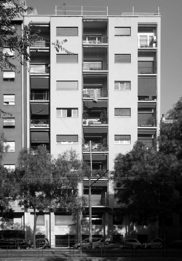 24 best itinerari di architettura milanese l 39 architettura for Architettura moderna della casa
