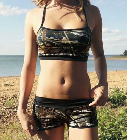 CamoGirl Sporty Camo Top