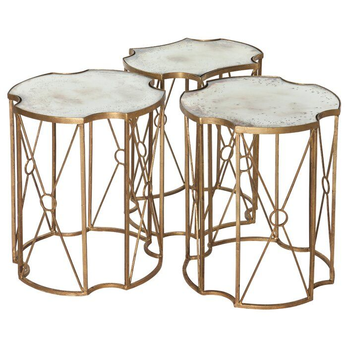 Best Marlene 3 Piece Coffee Table Set 3 Piece Coffee Table 400 x 300