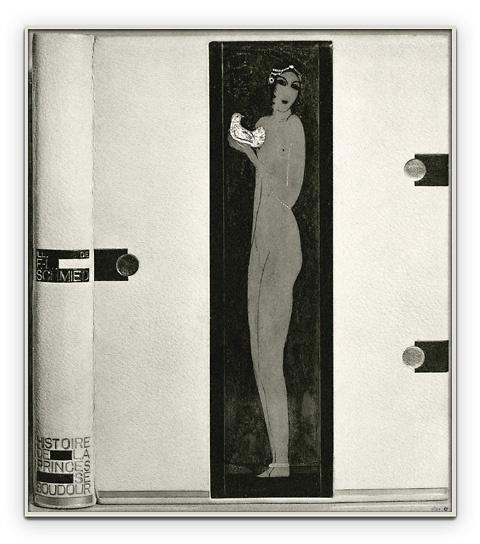 book binding: Rose Adler - The Princess of Boudoir, c1925, Paris