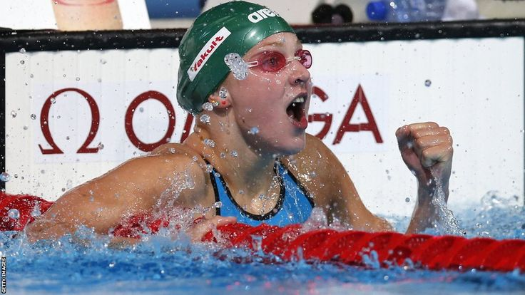 Ruta Meilutyte - a Lithuanian swimmer. Despite her success, she is down to earth and has a great personality. A true role model.