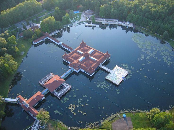 Best Baths in Hungary - Hévíz Thermal Lake