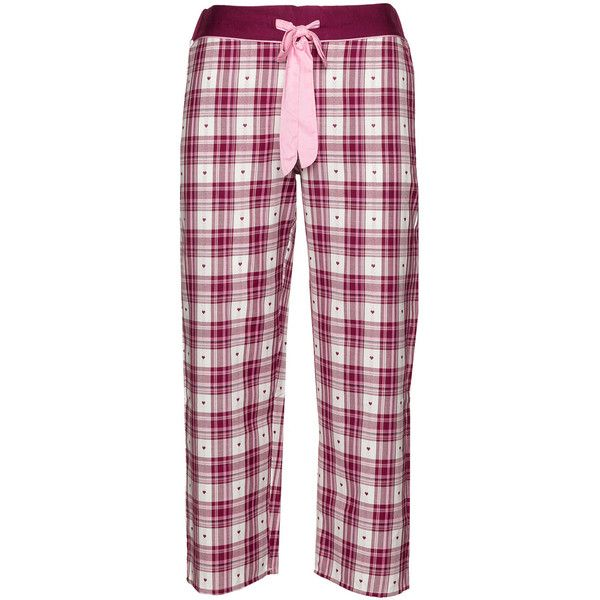 Cyberjammies Bordeaux-Red / White Plus Size Pyjama trousers - matching... (€35) ❤ liked on Polyvore featuring intimates, sleepwear, pajamas, pyjama, plus size, plus size sleepwear, white cotton pajamas, plus size cotton sleepwear, red pajamas and plus size pajamas