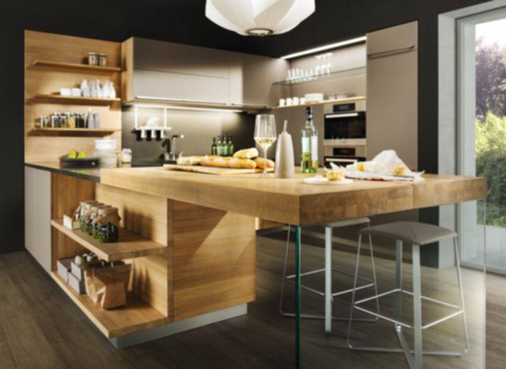 25+ best ideas about offene küche kochinsel on pinterest | u küche, Kuchen