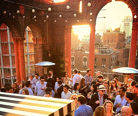 Salvation Taco Rooftop Bar, NYC and other rooftop bars around the world