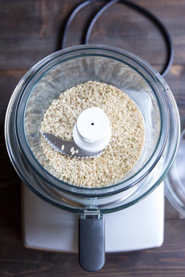 Homemade Baby Rice Cereal Recipe • theVintageMixer.com