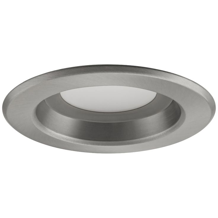 "4"" DLR4 9.1 Watt 2700K LED Retrofit Trim in Brushed Nickel - Style # 7Y111"