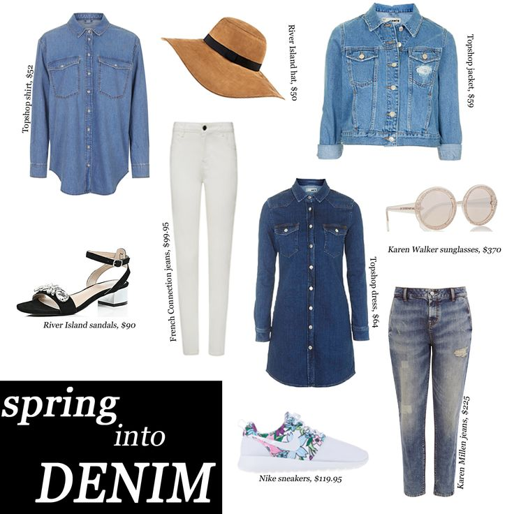 There's no better time than spring to update your wardrobe with some lighter denim styles  http://whatwouldkarldo.com/in-for-spring/