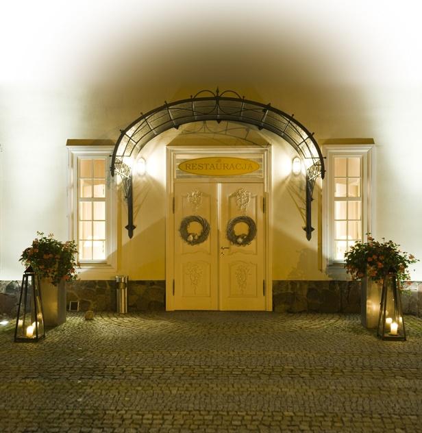 Dwór Oliwski Restaurant's main entrance # Gdansk # Poland