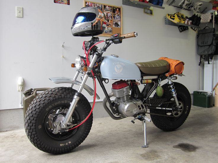 Will There Someday Be Bike In >> HONDA NAUTY DAX CY50 CUSTOM | honda monkey | Pinterest | Honda, Mini bike and Mopeds