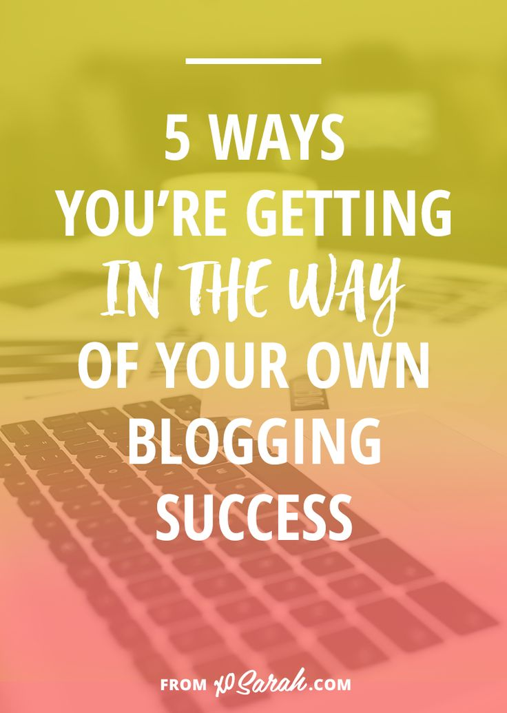 There are so many of you out there with great ideas, tons of excitement, and plenty of social media skills, so why, despite your passion for what you're sharing, is your content not connecting and your audience not growing? I've been around the blogging block a few times (and have been slowed down by all of these mistakes myself), so I have a hunch I know what the problem is . . .
