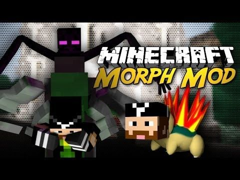 Minecraft Mod: Morph Mod! (Morph into Pixelmon, Mutants, Etc!) [1.6] - YouTube