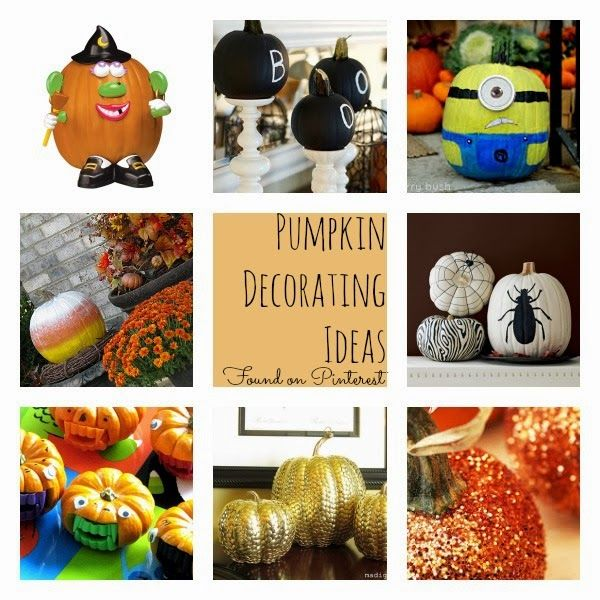 Kid friendly pumpkin decorating ideas get crafty pinterest