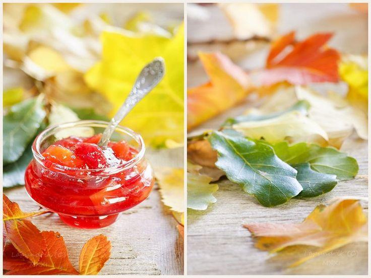 beautiful_food: Джем из нектаринов и вишни с апельсинами и корицей