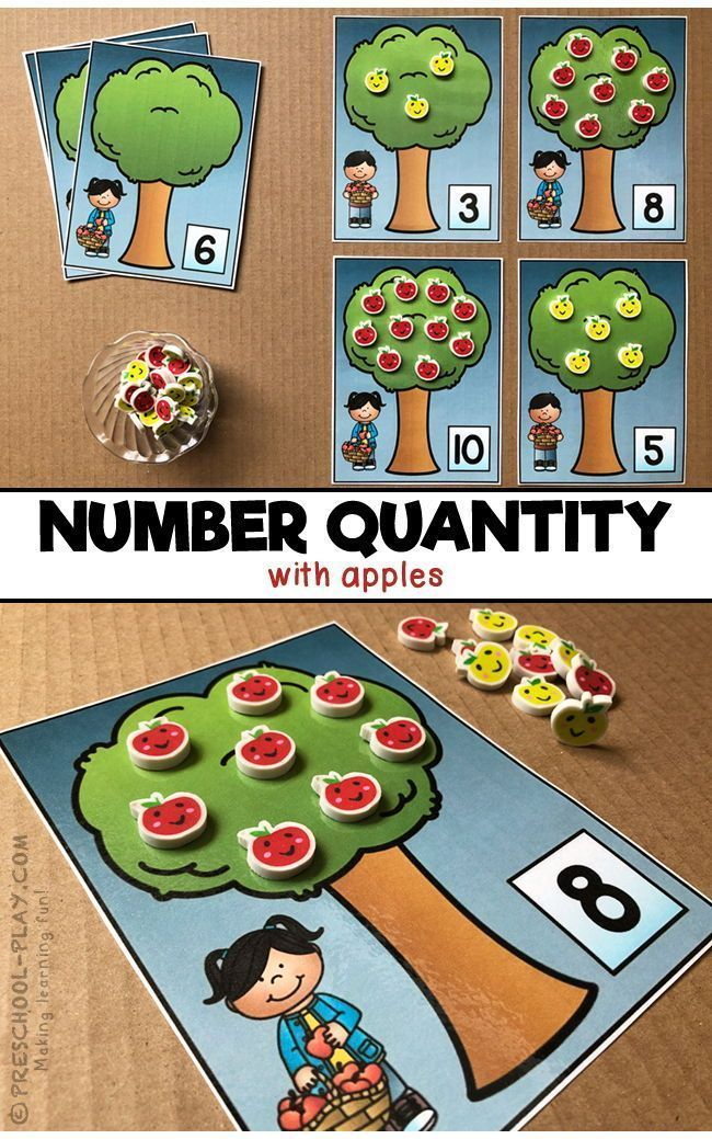 Mathematics – Number Sense 1-10 Math Center Activities