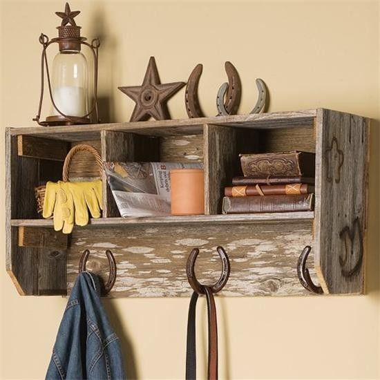 Rod's Exclusive Western Brands Storage Shelf Unit