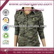 Ladies' 100% cotton jersey camouflage military T-shirt best seller follow this link http://shopingayo.space
